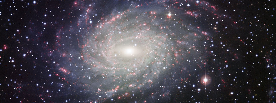 Galaxy's arms elbow stars into our neighbourhood